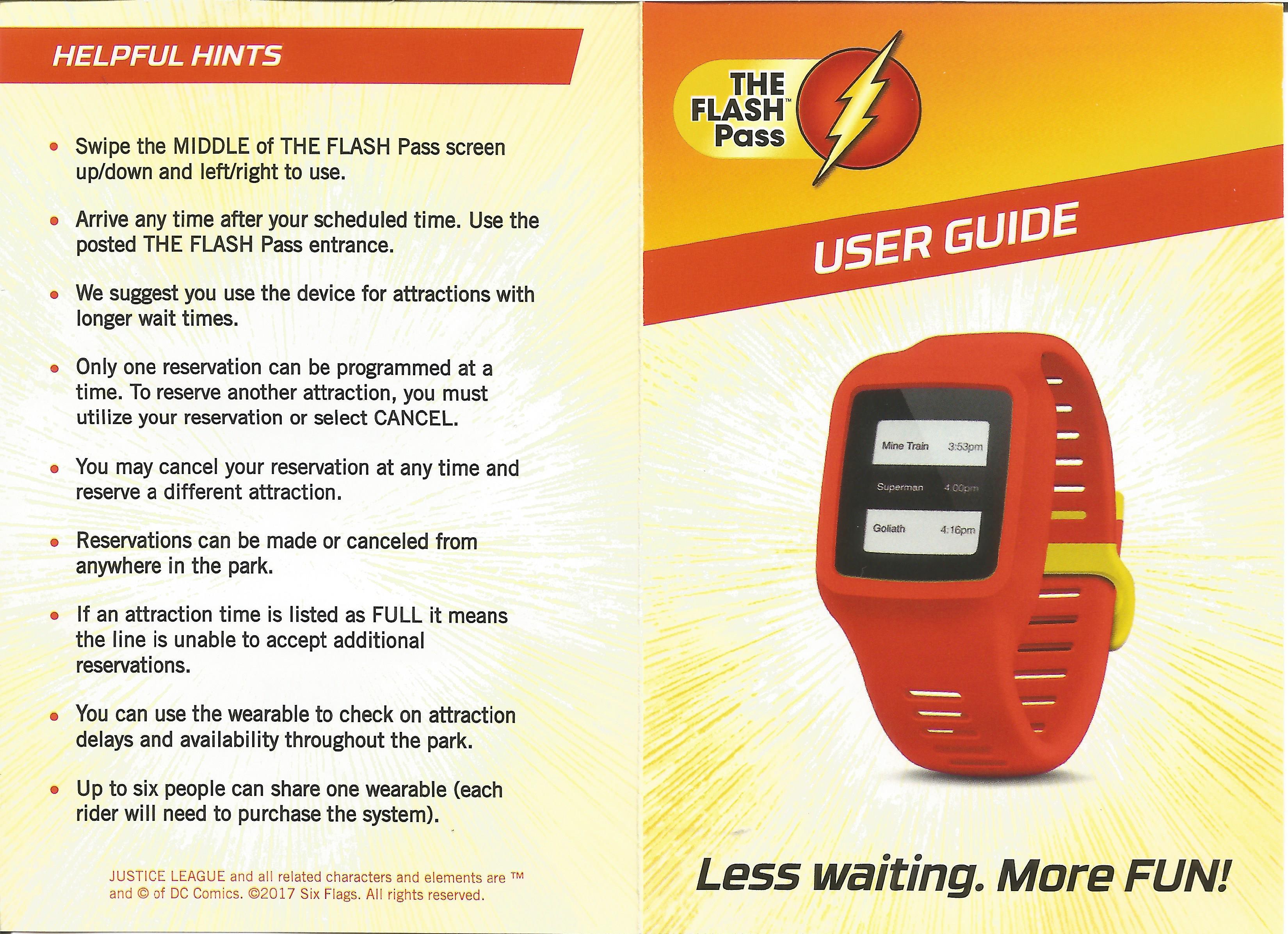 Six Flags New Flash Pass System – Mechanical Amusements